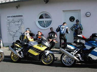 Bmw K1200s First Ride