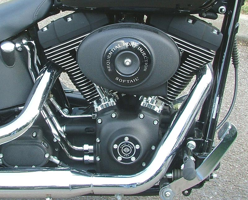 Riding Along You Begin To Appreciate The Harley Davidson Motor Revving Slowly Underneath Torque By Bucketful And Need Virtually Never Change
