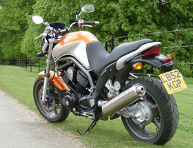 This Combination Of A Custom Style Engine In Sporty Road Chassis Gives Great Sensation Particular When Travelling Down Smaller B Roads